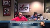 Brendan Schaub on MMAjunkie.com Radio