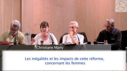 Conférence-débat sur les retraites 2/5 - Séminaire #1