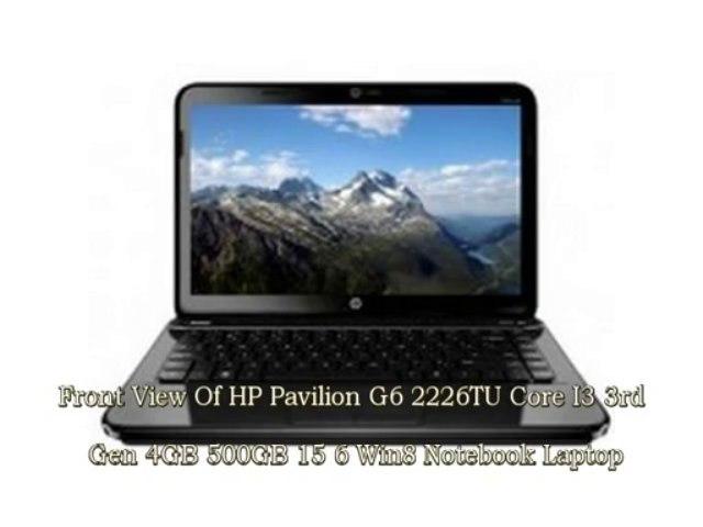 HP Pavilion G6 2226TU (Core i3 3rd Gen4GB500GB15.6
