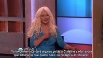 Christina Aguilera, Adam Levine & Blake Shelton en Ellen - The Voice 2 Parte 2 (Subtítulos español)