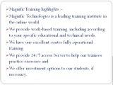 SAP ENTERPRISE PROTAL ONLINE TRAINING USA | MAGNIFIC TRAINING