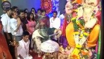 Priyanka Chopra performs Aarti at Andhericha Raja Ganesh Darshan