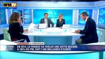 Chronique éco de Nicolas Doze: en 2014, la France va frôler une dette record à 100% du PIB - 17/09
