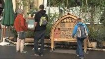 """Stéphane Le Foll visite l'exposition """"Bois et Forêt, le choix nature"""""""