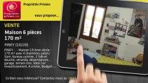 A vendre - maison - PINEY (10220) - 6 pièces - 170m²