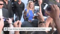Singer Britney Spears To Headline Show In Las Vegas