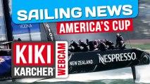 Coupe de l'America : Analyse de la régate 11 | Kiki Karcher's Webcam