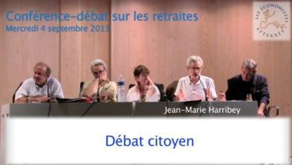 Conférence-débat sur les retraites 3/5 - Séminaire #1