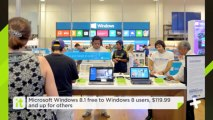 Microsoft Windows 8.1 Free To Windows 8 Users, $119.99 And Up For Others