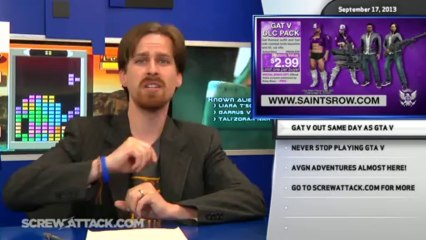 Greenlight Ghosts n' Goblins, free Saints Row 4 DLC, and never stop playing GTA V - Hard News 09/17/13 - Hard News Clip