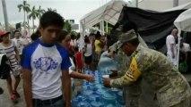 Mexique : des milliers de touristes tentent de quitter Acapulco sous les eaux