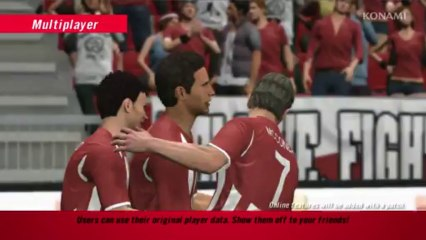 Multiplayer Mode Trailer de Pro Evolution Soccer 2013