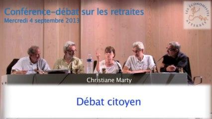 Conférence-débat sur les retraites 5/5 - Séminaire #1