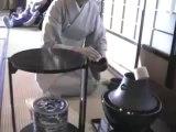 Japanese tea ceremony in Kanazawa Japan