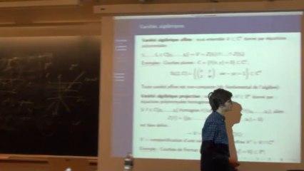 Dynamique et Géométrie Complexe