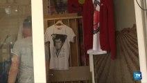 Trop de travaux rue Armagnac... la boutique Dress Code déménage dans un café !