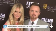 'Breaking Bad' Stars Raised $750,000 For Charity