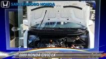 2009 HONDA CIVIC LX - San Leandro Honda, Hayward Oakland Bay Area