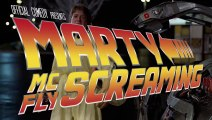 Marty McFly Screaming!!! Supercut from Back To The Future Movies!! Michael J. Fox