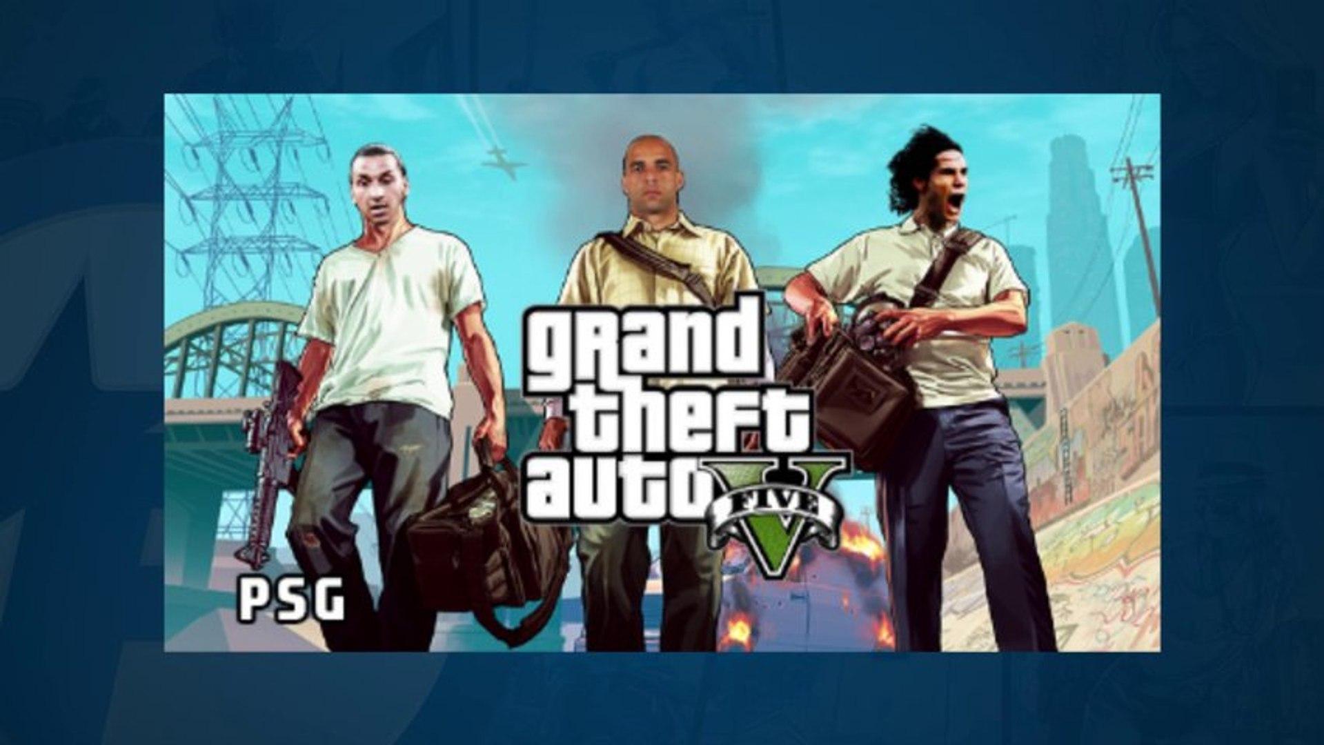 GTA V : les parodies foot envahissent la toile !