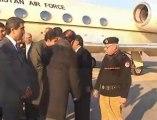 Chairman PPP Bilawal Bhutto Zardari with zardari in lahore