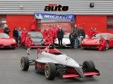 Opération blogueurs Michelin et Sport Auto au circuit LFG