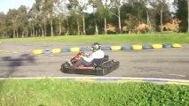 Ma course à VGK (Karting) - Sodi Kart 4T à Benslimane (Maroc)