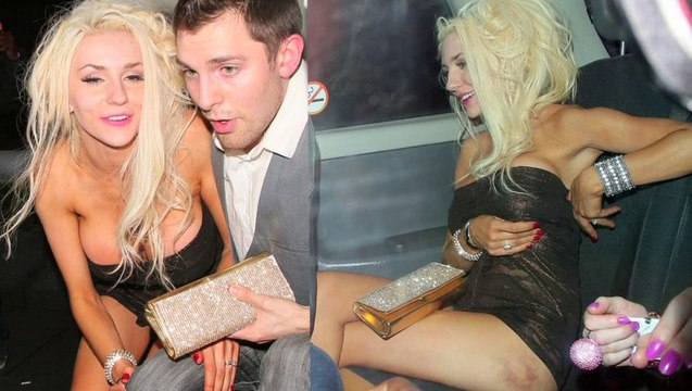 Courtney Stodden Boob Popping Drunken Night - Courtney Stodden Gets Wasted And Shows Of Boobs