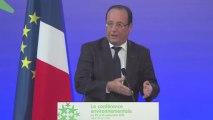 Conférence environnementale 2013 : discours d'ouverture du président de la République