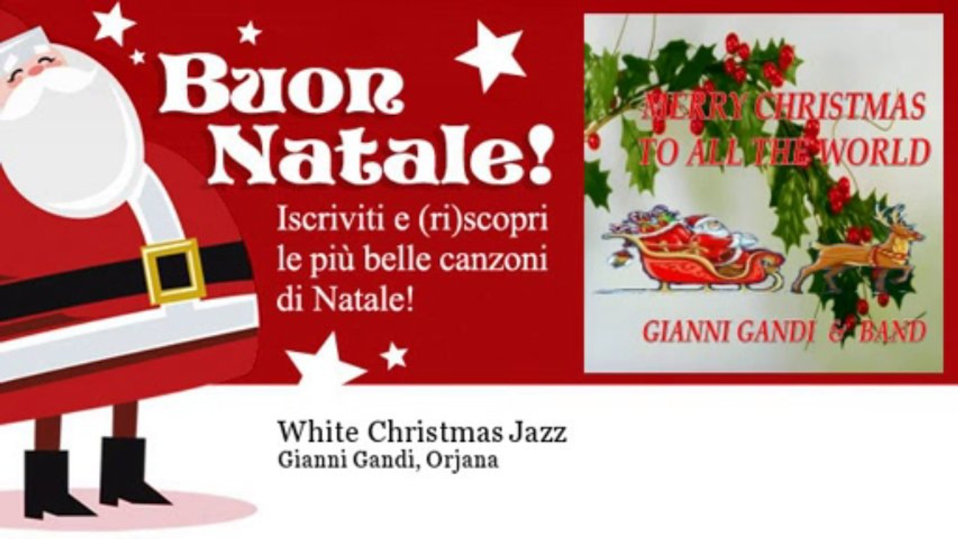 Gianni Gandi, Orjana - White Christmas Jazz