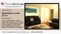 Studio Apartment for rent - Ledru-Rollin, Paris - Ref. 924