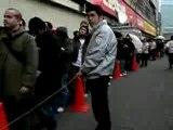 Playstation 3 - File d'attente au Japon