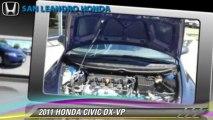 2011 HONDA CIVIC DX-VP - San Leandro Honda, Hayward Oakland Bay Area