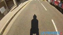 Lugdunum roller contest : la descente de Fourvière comme si vous y étiez...