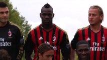 Quand Balotelli rend fous ses coéquipiers du Milan AC...