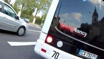 Nancy : Du bon usage des voies de bus multimodales cyclables