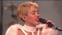 Miley Cyrus - Wrecking Ball (IHeartRadio 2013)