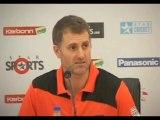 Perth Scorchers captain Simon Katich press conference