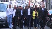 Harlem Désir en visite à Marseille pour l'organisation des Primaires citoyennes des municipales 2014