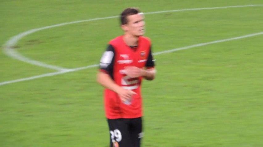 21/09/13 : SRFC-ACA : Romain Danzé offre son maillot