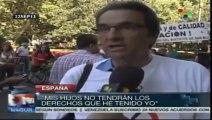 Españoles rechazan políticas públicas que afectan el sector salud