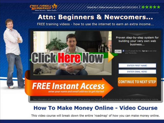 Chris Farrell Membership Review – Online Internet Marketing Training