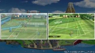 Wii Sports Club Wii U vs Wii Graphics Head to Head Compariso