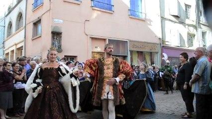La fin des fêtes Renaissance du Roi de l'Oiseau