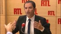 """Benoît Hamon : """"La cote de François Hollande sera indexée sur la courbe du chômage"""""""