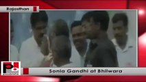 Sonia Gandhi in Rajasthan lays foundation stone for a new MEMU coach factory in Rajasthan