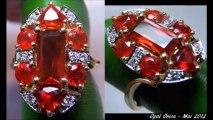 Processus creation bijou sur mesure. Bague en or 18 carats, opales de feu du mexique et diamants