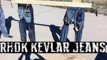 Rhok Kevlar Motorcycle Jeans vs Blue Jeans