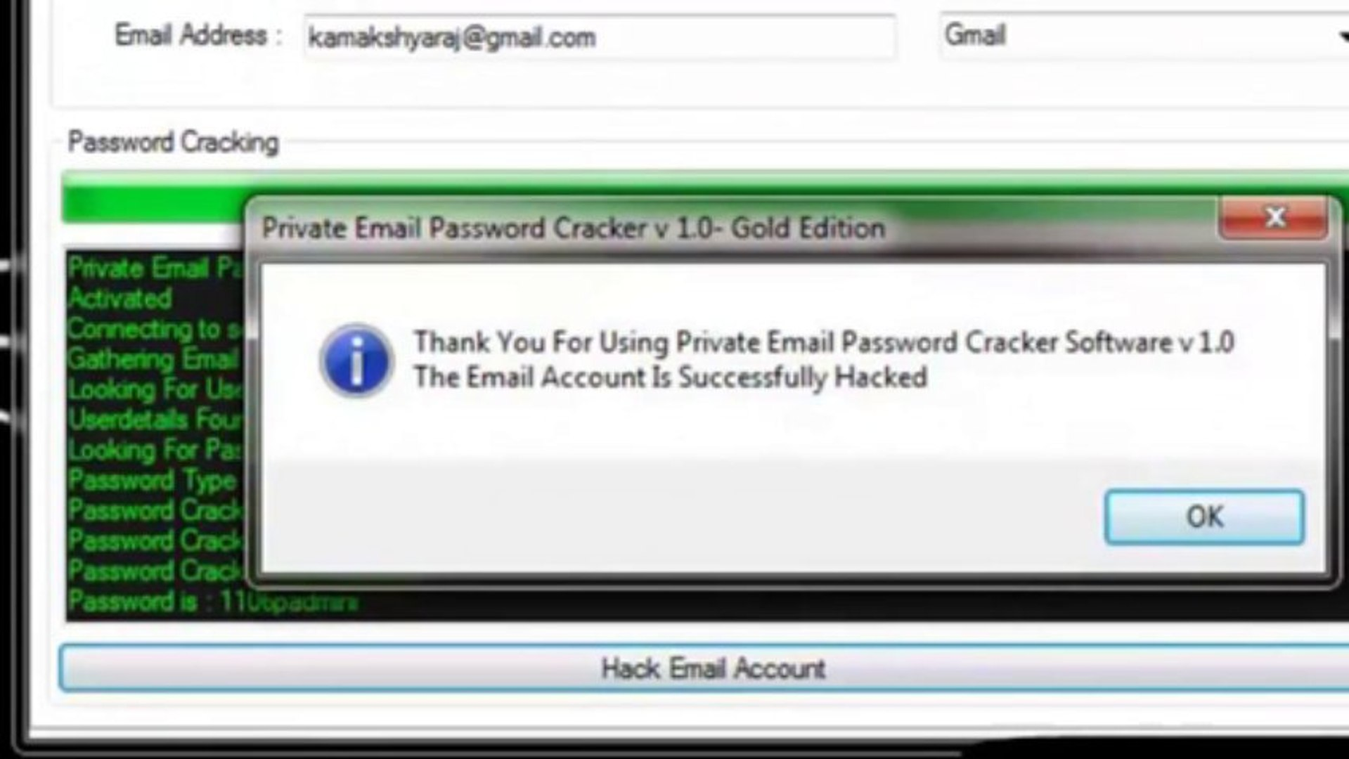 Free Gmail Password Hacking Software 2013 (NEW!!) -250