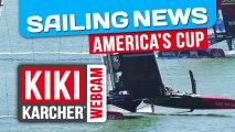 Oracle Team USA remporte les Régates 14 & 15 | America's Cup | Kiki Karcher's Webcam